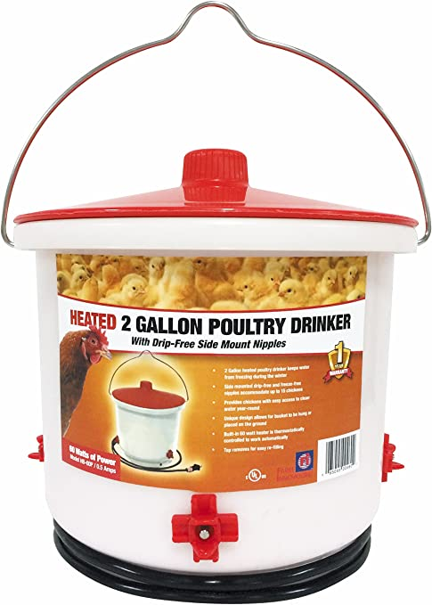 Farm Innovators Heated Poultry Drinker  review