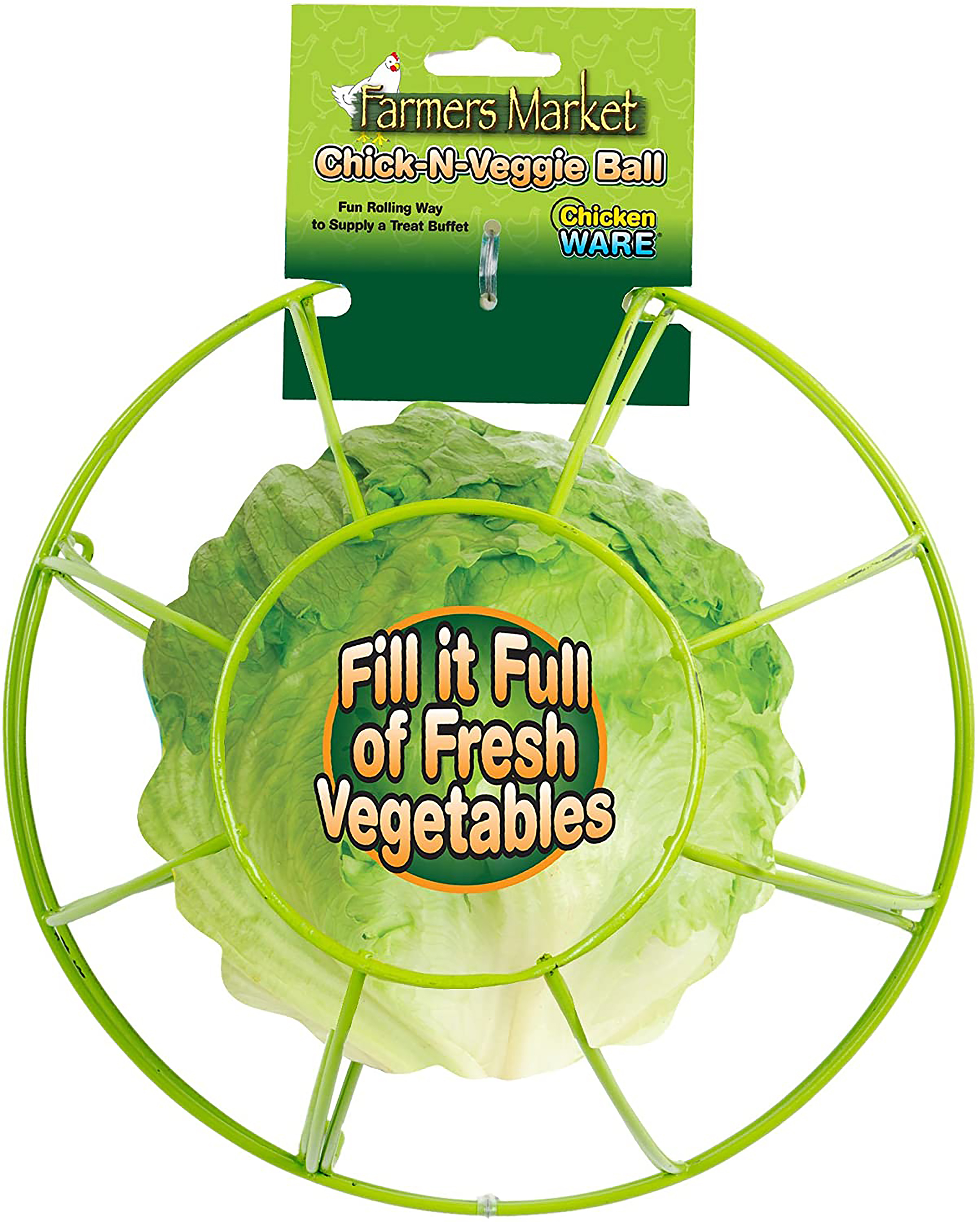 Chick-N-Veggie Treat Ball  review