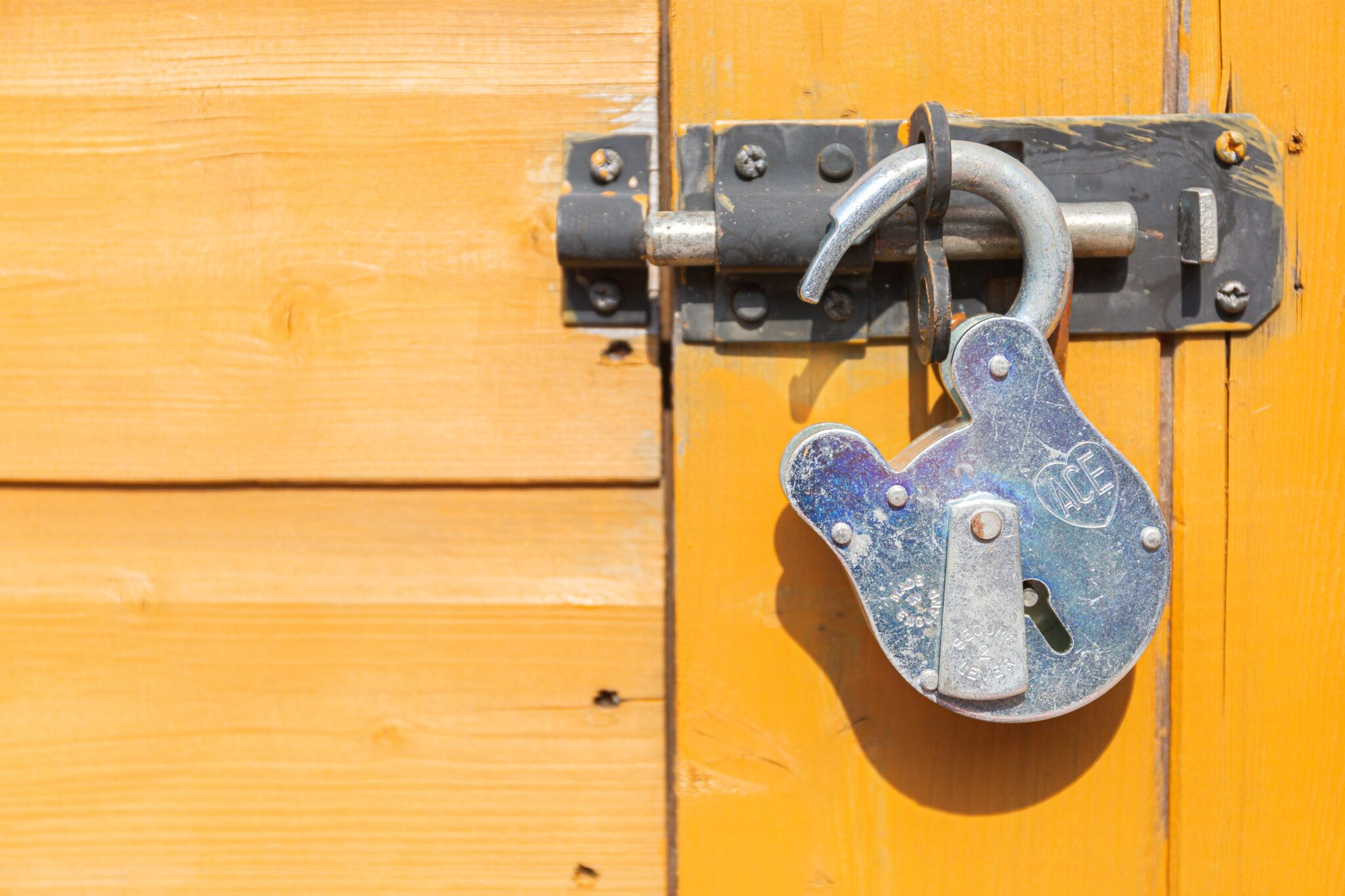 Use Complex Locking Systems
