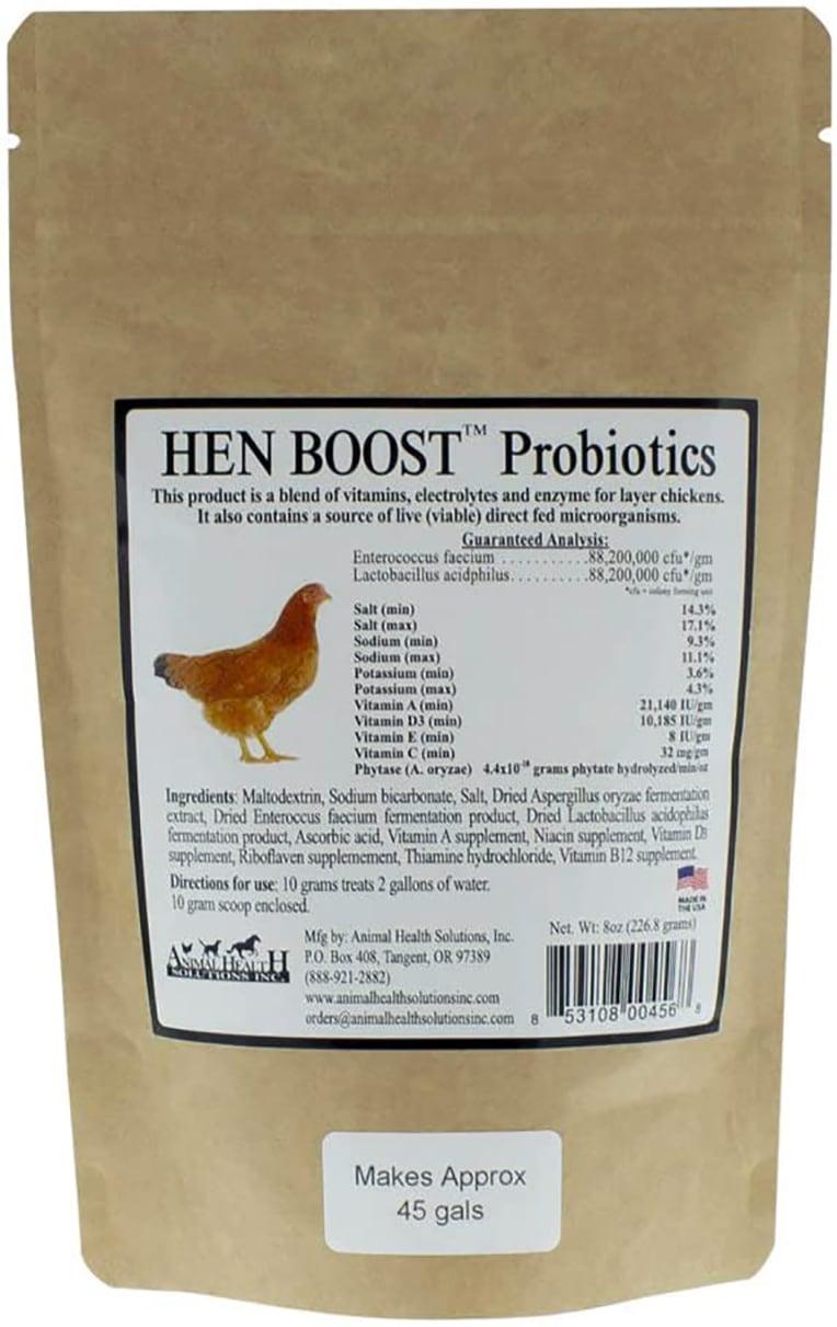 Hen Boost Probiotics, Help Boost Immunity & Hydration review