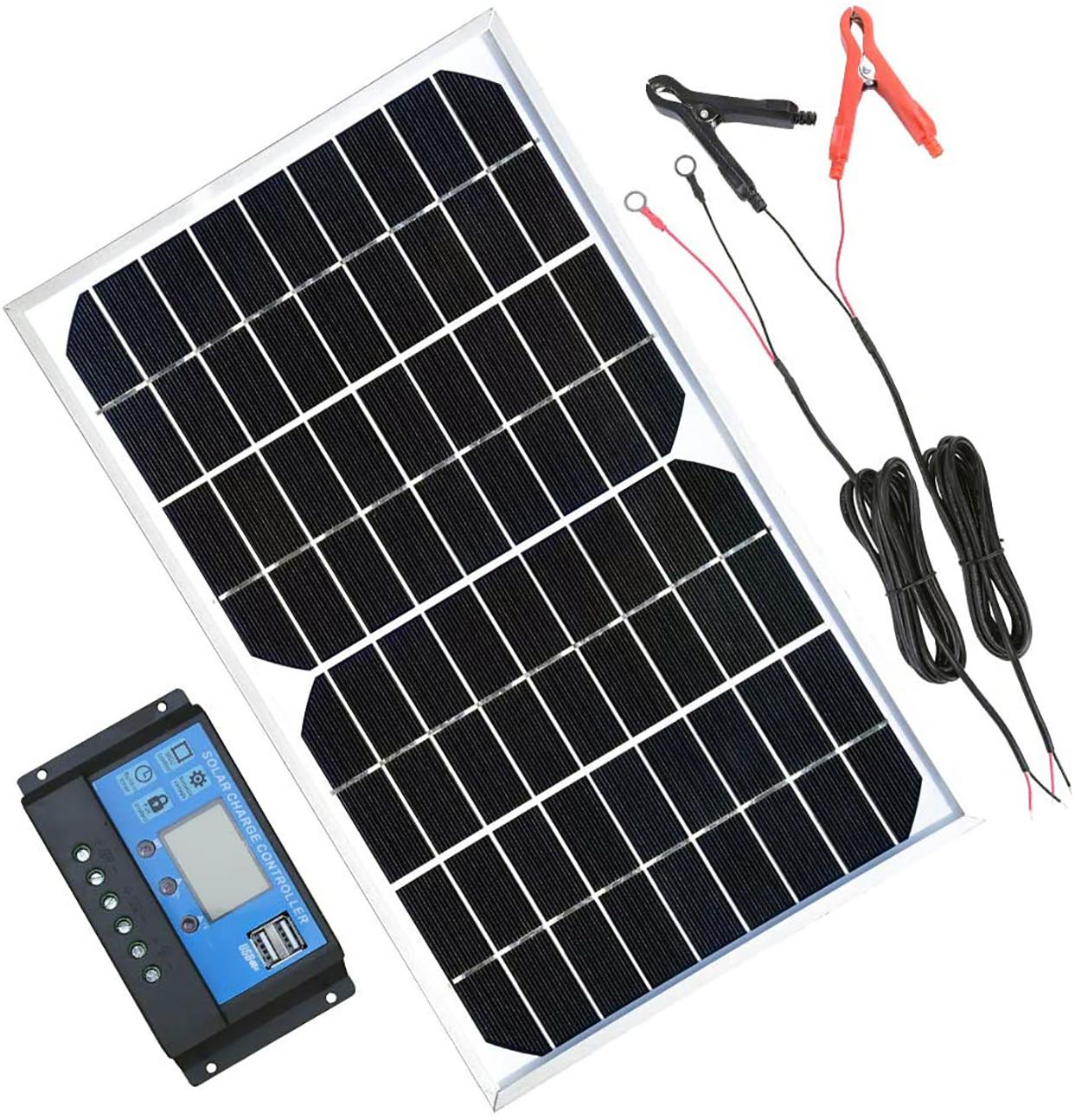 Solar Panel Kit 10W 12V review
