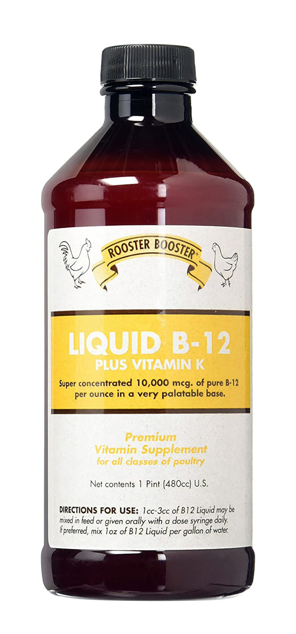 b-12 for chickens