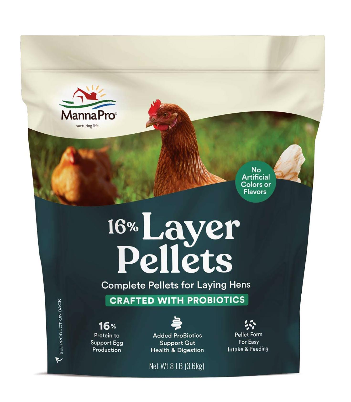 pellets for laing hens